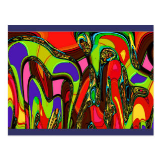 Canberra Abstract Gifts Postcard