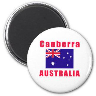 Canberra Australia capital designs 2 Inch Round Magnet