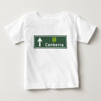 Canberra, Australia Road Sign Tshirt