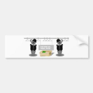 canberra bumper sticker