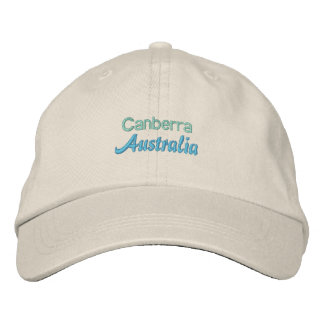 CANBERRA cap Embroidered Hat