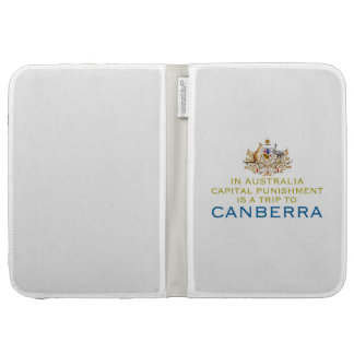 Canberra...Capital Punishment. Kindle Cover