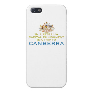 Canberra...Capital Punishment. iPhone 5/5S Case