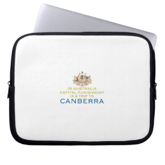 Canberra Capital Punishment Computer Sleeves