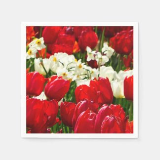Canberra Flowers Paper Napkins