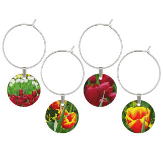Canberra Flowers Wine Glass Charms
