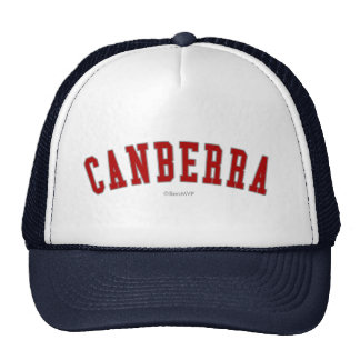 Canberra Hats