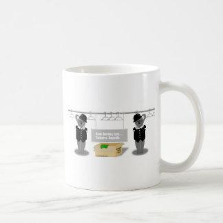 canberra basic white mug