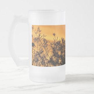 Canberra Summer Sunset 16 Oz Frosted Glass Beer Mug