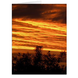 Canberra Summer Sunset Big Greeting Card