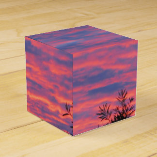 Canberra Summer Sunset Party Favor Box