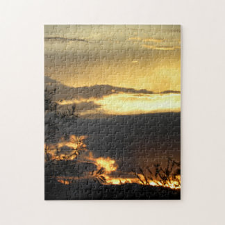 Canberra Summer Sunset Jigsaw Puzzle