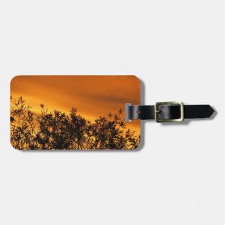 Canberra Summer Sunset Travel Bag Tag