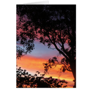 Canberra Sunset Greeting Card