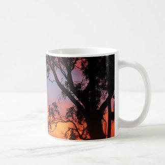 Canberra Sunset Basic White Mug