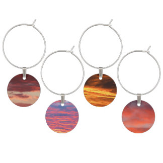 Canberra Sunsets Wine Charm