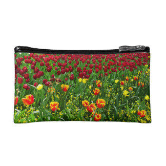 Canberra Tulips double-sided Cosmetics Bags