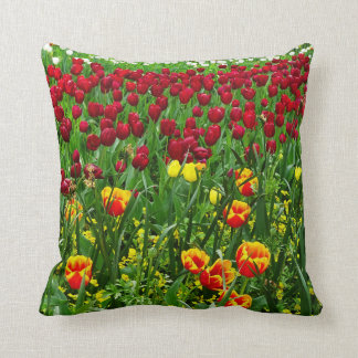 Canberra Tulips double-sided Throw Pillows