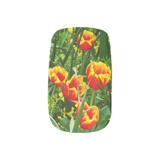 Canberra Tulips Nail Art