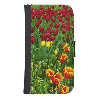 Canberra Tulips Phone Wallet Cases