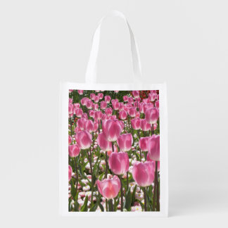 Canberra Tulips Reusable Grocery Bag