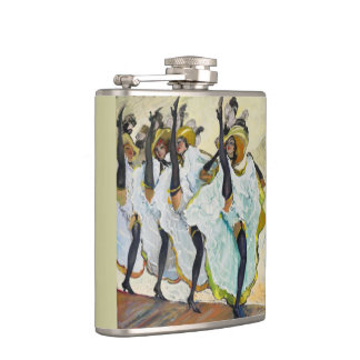 Cancan Dancers Hip Flask