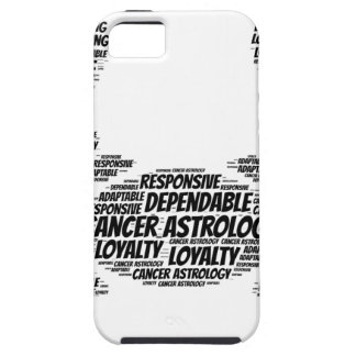 Cancer Astrology Zodiac Sign Word Cloud Case For The iPhone 5