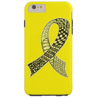 Cancer Awareness Ribbon Custom Colors Tough iPhone 6 Plus Case