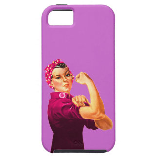 Cancer Awareness Rosie The Riveter iPhone 5 Case