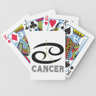 Cancer Bicycle Playing Cards