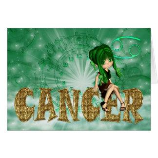 Cancer Birthday Card cute