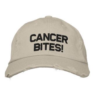 CANCER BITES! EMBROIDERED HAT