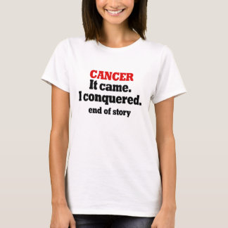 Cancer. Celebrate Cancer free. Congratulations T-Shirt