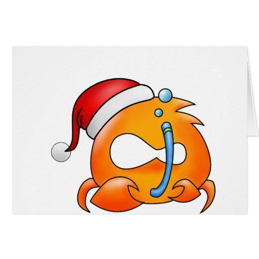 Cancer Christmas Greeting Card
