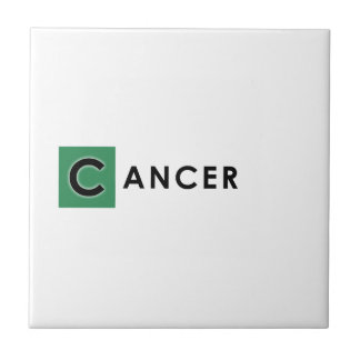 CANCER COLOR TILE