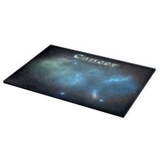 Cancer constellation cutting board