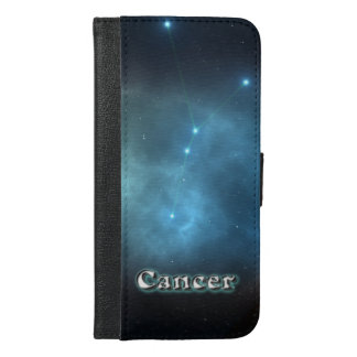 Cancer constellation iPhone 6/6s plus wallet case