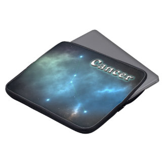 Cancer constellation laptop sleeve
