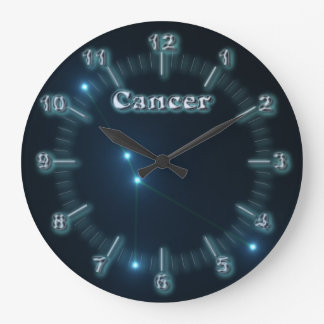 Cancer constellation large clock