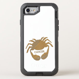 Cancer Crab Zodiac OtterBox Defender iPhone 8/7 Case