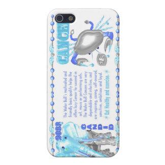 Cancer de taureau de l'eau de zodiaque de ValxArt  Étui iPhone 5