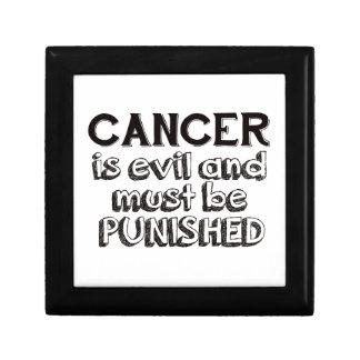 cancer design gift box