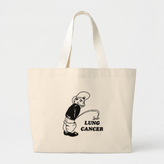 cancer design large tote bag