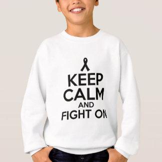 cancer design sweatshirt
