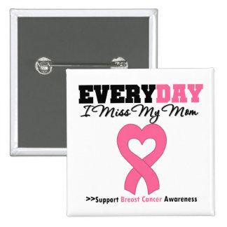 Cancer du sein chaque Mlle My Mom du jour I Badges