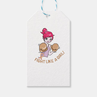 CANCER FIGHT-CHILDHOOD GIFT TAGS