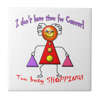 Cancer Free Shopper Tile