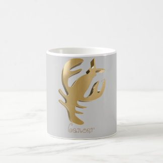 Cancer golden sign coffee mug