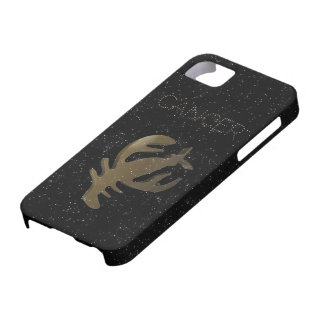 Cancer golden sign iPhone 5 covers