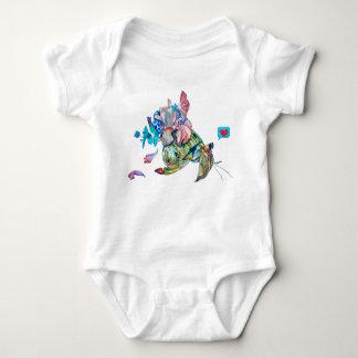 Cancer hermit baby bodysuit